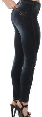 Convi Jeans By Cenia Zipper Waist Jeans