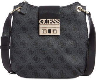 GUESS Logo Luxe Tourist Crossbody