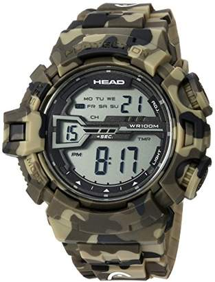 Head Men's 'Half Pipe' Quartz Resin and Rubber Casual Watch