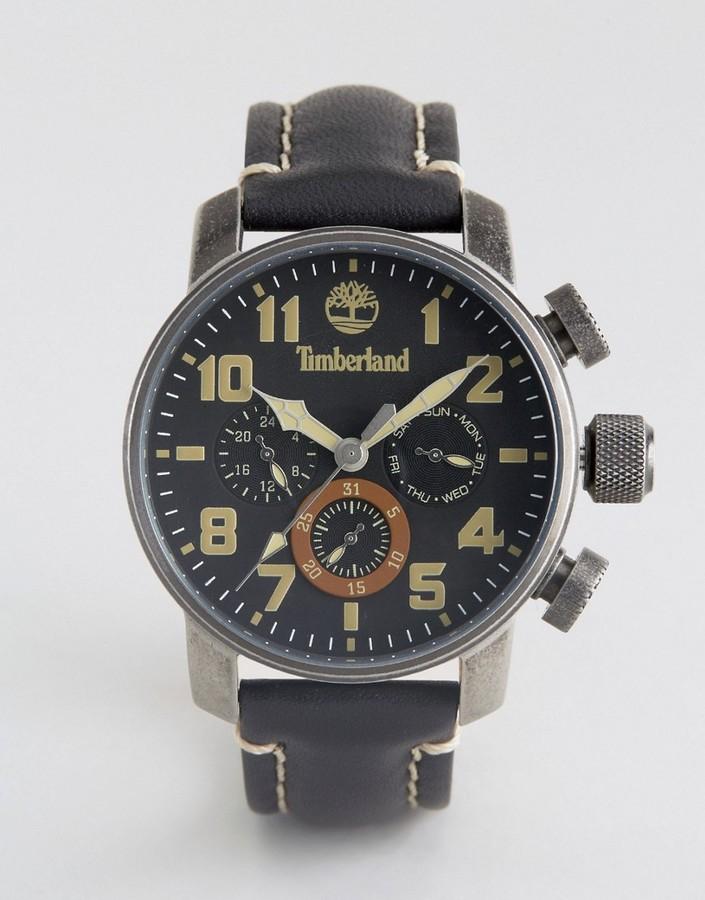 TimberlandTimberland Mascoma Watch In Black