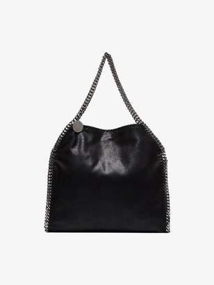 Stella McCartney black Falabella small faux leather shoulder bag