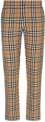 Burberry Vintage Check Cigarette Trousers