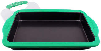 Berghoff Perfect Slice 13x9 Baking Pan with Silicone Sleeve and Slicing Tool