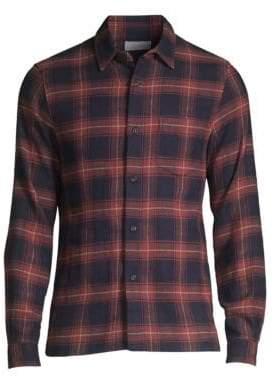 John Elliott Plaid Shirt