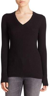 Vince Skinny V-Neck Sweater