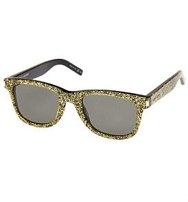 Saint Laurent Sl Glitter Gold Sunglass