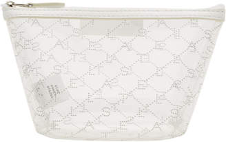 Stella McCartney Transparent Monogram Cosmetic Case