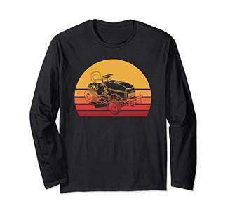 Retro Lawnmower Long Sleeve Shirt