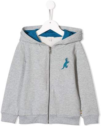 Paul Smith Dino embroidery zipped hoodie