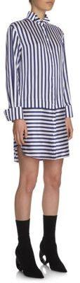 Burberry Burberry Striped Shirt Dress