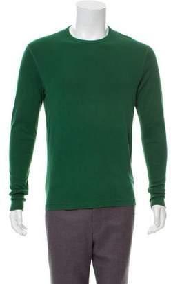 Burberry Long Sleeve Crew Neck T-Shirt
