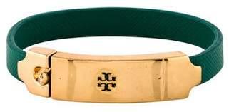 Tory Burch Logo Leather Bracelet