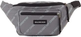 Balenciaga Men's Explorer Power of Dreams Canvas Belt Bag