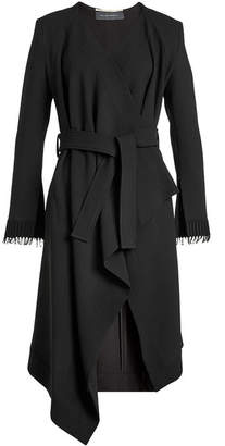 Roland Mouret Asymmetric Wool Coat