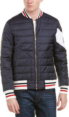 Moncler Quilted Down Bomber Jacket