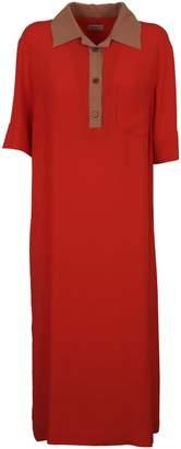 Dries Van Noten Crepe Dress