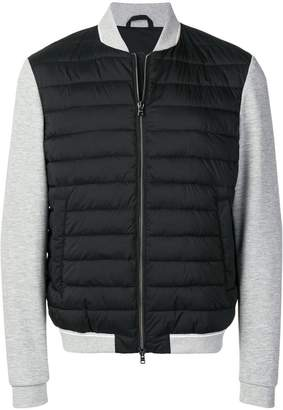 Herno quilted bomber jacket
