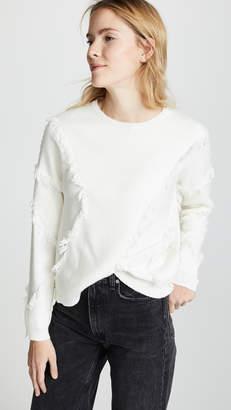 ATM Anthony Thomas Melillo Fringe Sweater