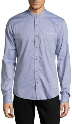 Scotch & Soda Men's Long-Sleeve Cotton Top