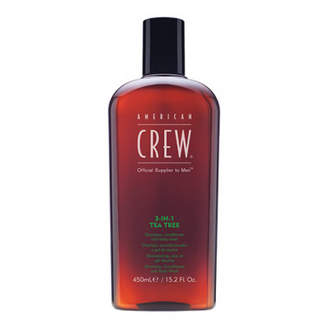 American Crew Tea Tree 3 in 1 Shampoo, Conditioner & Body Wash