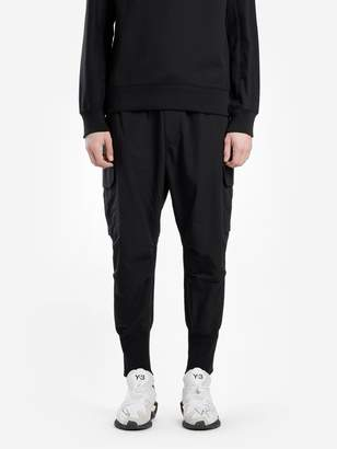Y 3 Men's Black Cargo Pants