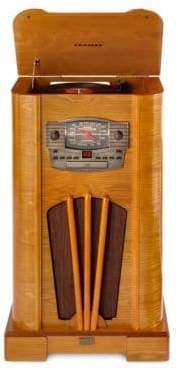 Crosley Three-Speed Turntable Console CD