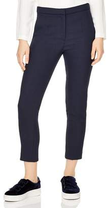Sandro Andy Cropped Straight-Leg Pants
