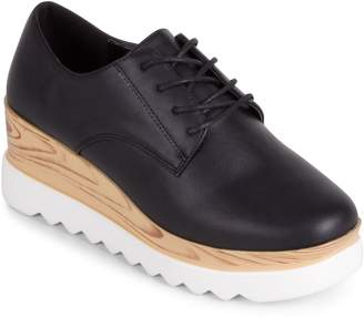 Wanted Lace-Up Wedge Platform Sneakers - Beekman