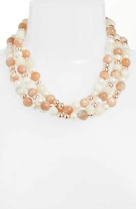 Simon Sebbag Pearl & Stone Necklace
