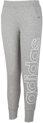 adidas Girls 7-16 Linear Logo Joggers