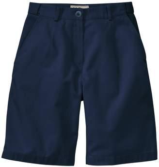 "L.L. Bean L.L.Bean Women's Wrinkle-Free Bayside Shorts, Original Fit Hidden Comfort Waist 9"""