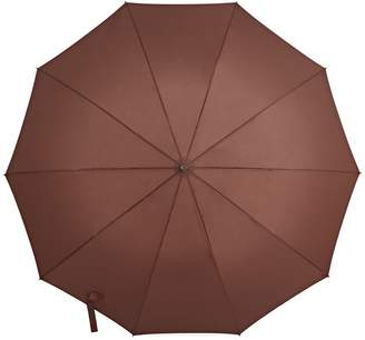 Gizelle Renee - Serendipity Compact Brown Umbrella