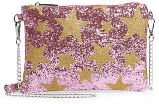 Bari Lynn Glitter Star Shoulder Bag