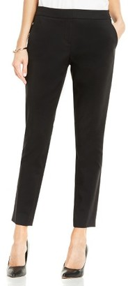 Women's Vince Camuto Double Weave Cotton Blend Ankle Pants $79 thestylecure.com
