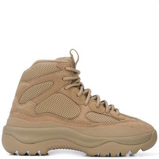 Yeezy thick sole hiking boots