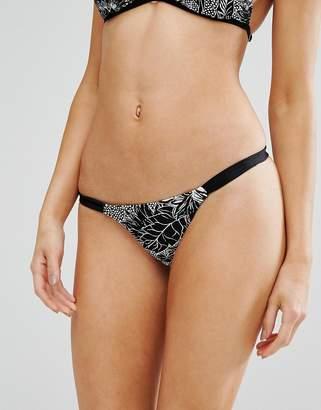 Somedays Lovin Floral Print Bikini Bottom