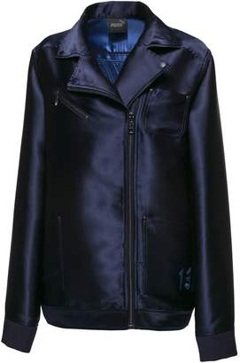 FENTY Women's Oversized Satin Biker Jacket