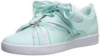 Puma Women's Smash Sneaker fair Aqua White