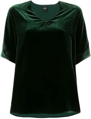 Aspesi velvet v-neck T-shirt