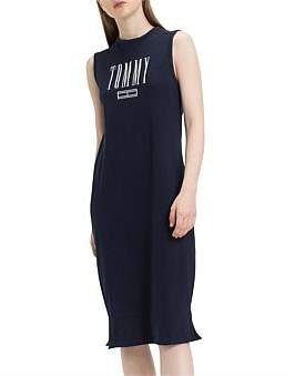 Tommy Hilfiger Tjw Logo Tank Dress