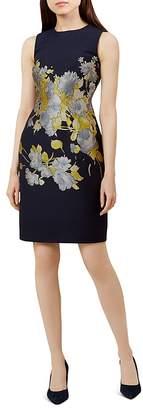 Hobbs London Queen Anne Floral Sheath Dress