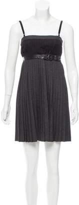 Dolce & Gabbana Pleated Mini Dress