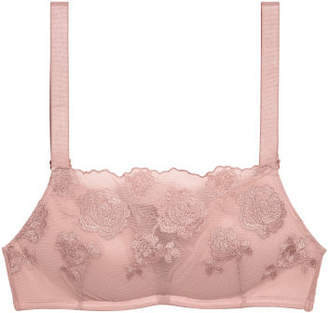 H&M Lace Push-up Bralette - Pink