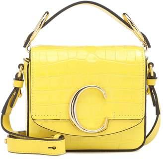 Chloé C Mini leather shoulder bag