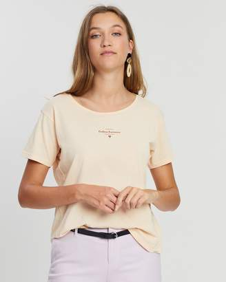 Maison Scotch Organic Cotton Short Sleeve Tee
