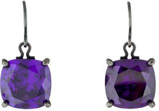 Bottega VenetaBottega Veneta Cubic Zirconia Drop Earrings