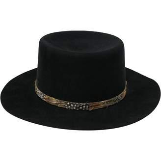 Saint Laurent Black Rabbit Hats