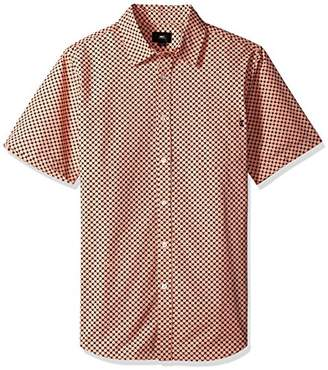 Obey Men's Landri Short Sleeve Button UP Woven