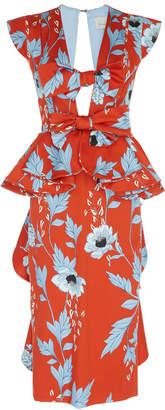 Johanna Ortiz Kalahari Stretch Cotton Sateen Dress