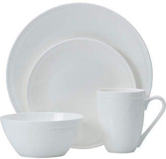 Mikasa Loria 16 Piece Bone China Dinnerware Set, Service for 4